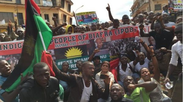 Biafra Protest: Osinbajo Will Be Held Responsible If Any Igbo Is Killed