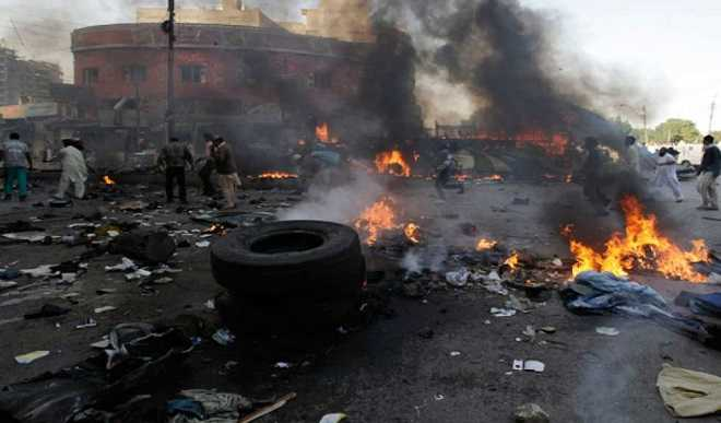 Multiple bomb blasts kill 17 in Borno