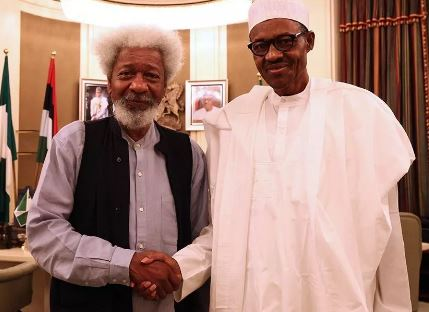 Buhari's 'failed' government conniving with NASS to revive rejected Water Resources Bill - Soyinka