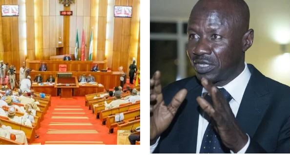 DSS writes Senate, insists Magu 'unfit' to head EFCC
