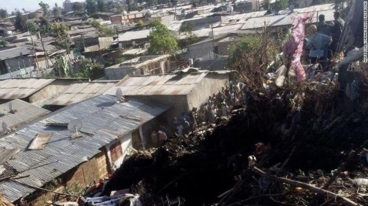 Death toll doubles in Ethiopia garbage dump collapse