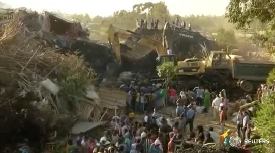 Ethiopia declares 3-day mourning for 72 victims in garbage dump landslide