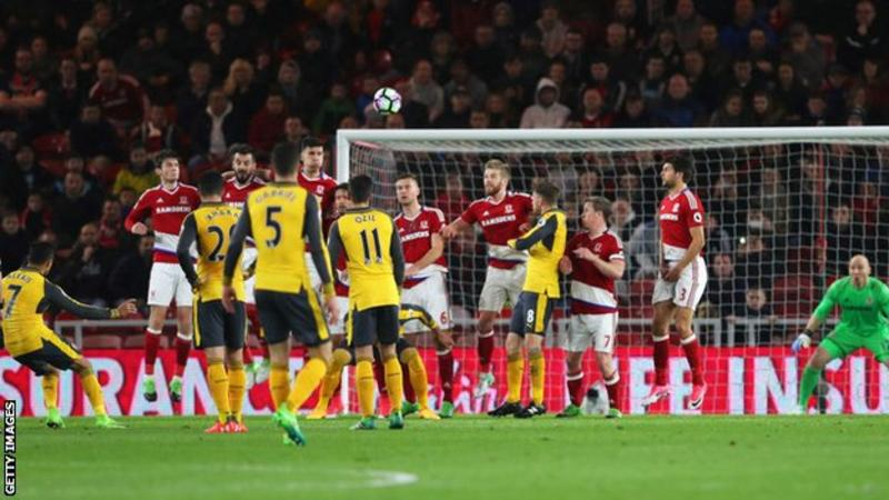 We Needed To Change Tactics Against Middlesbrough- Arsene Wenger