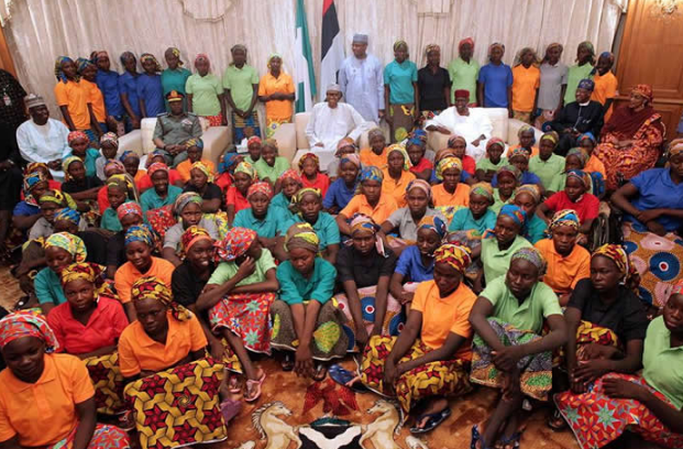 Over 80 Chibok schoolgirls freed from Nigeria's Boko Haram