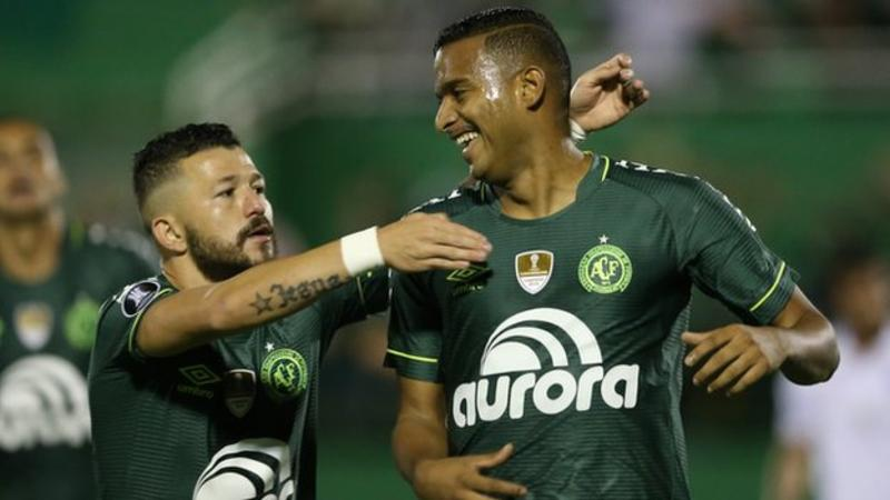 Chapecoense win first trophy since plane disaster