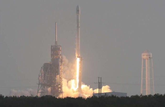 SpaceX launches top secret satellite for US Govt.