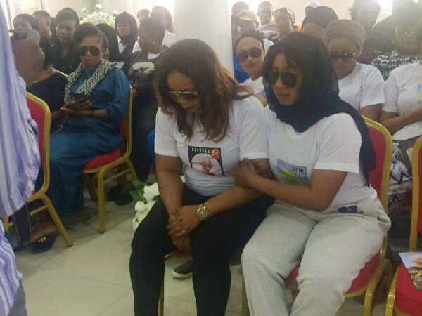 Tears Flow As Moji Olaiya Is Laid To Rest
