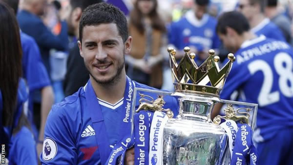 Chelsea expect Eden Hazard to miss three months after ankle surgery
