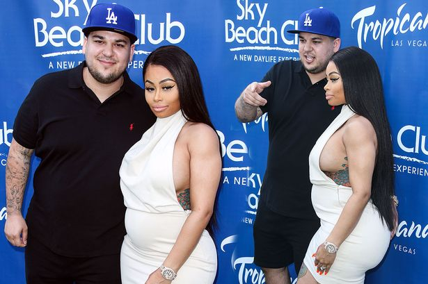 Rob Kardashian accuses Blac Chyna of cheating, drug abuse and surgery