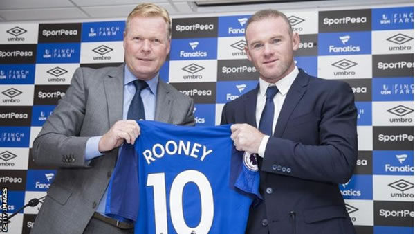 Rooney 'medical' signals Everton return
