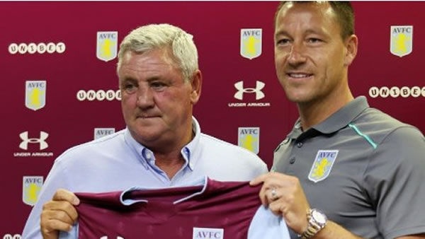 Aston Villa sign ex-Chelsea & England captain John Terry
