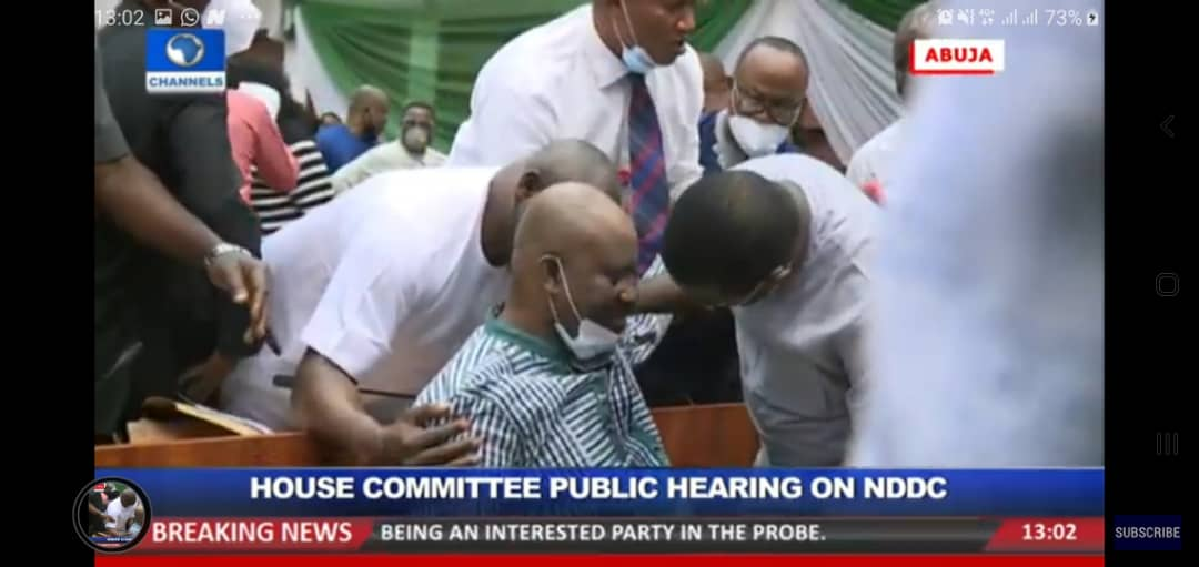 Breaking: Acting NDDC Managing Director collapses during House hearing, Breaking: Acting NDDC Managing Director collapses during House hearing, Latest Nigeria News, Daily Devotionals & Celebrity Gossips - Chidispalace