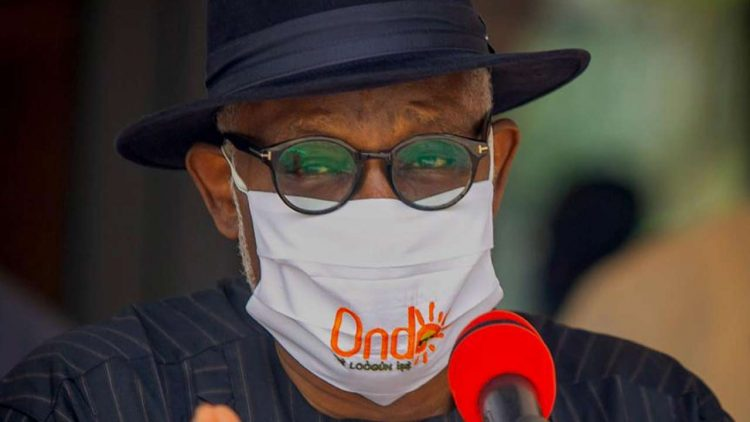 Ondo 2020: Akeredolu 'peppers' seven lawmakers loyal to deputy, excludes them from car gifts