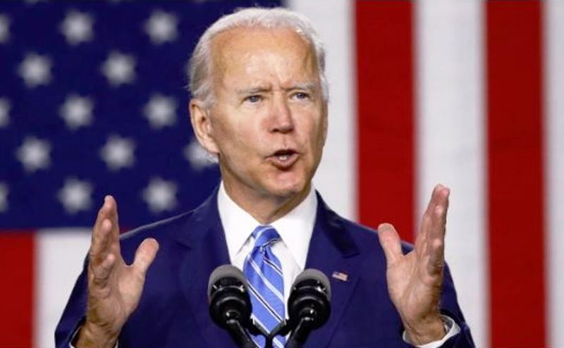 Biden vows end to 'American darkness'