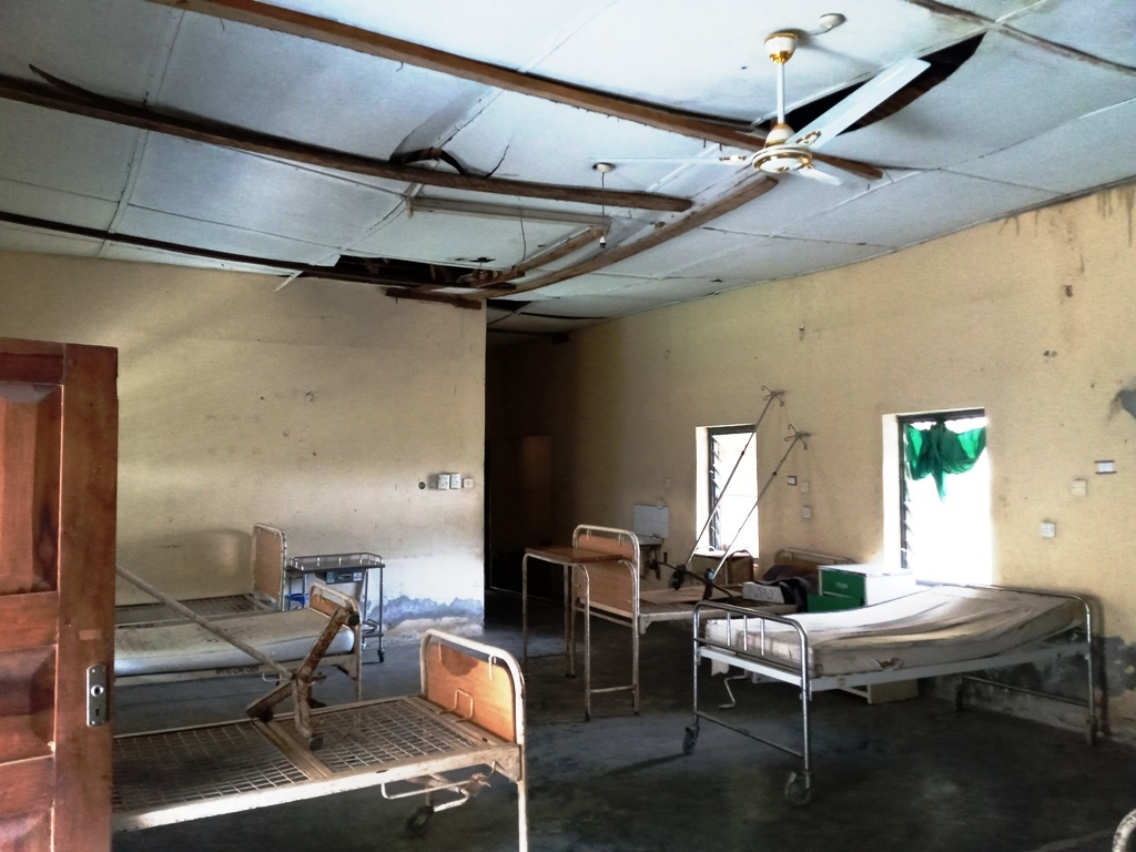 The female ward of Odi General Hospital in Bayelsa State