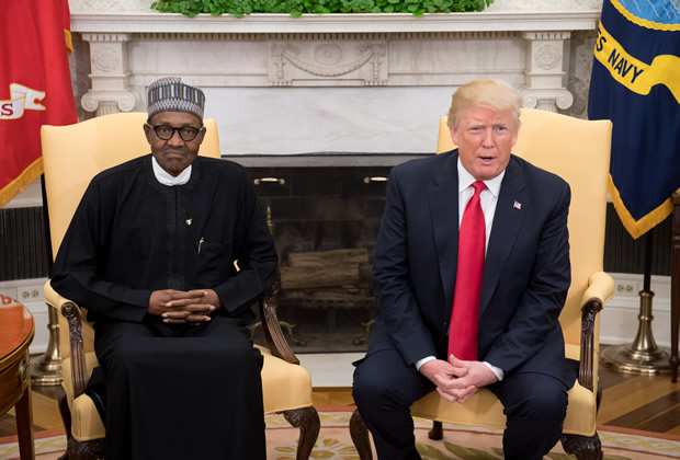 MURIC attacks Trump for questioning Buhari over 'killing of Christians'