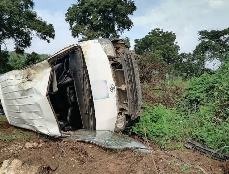 BREAKING: AIT crew on way to cover Edo election involved in ghastly accident [Photos]