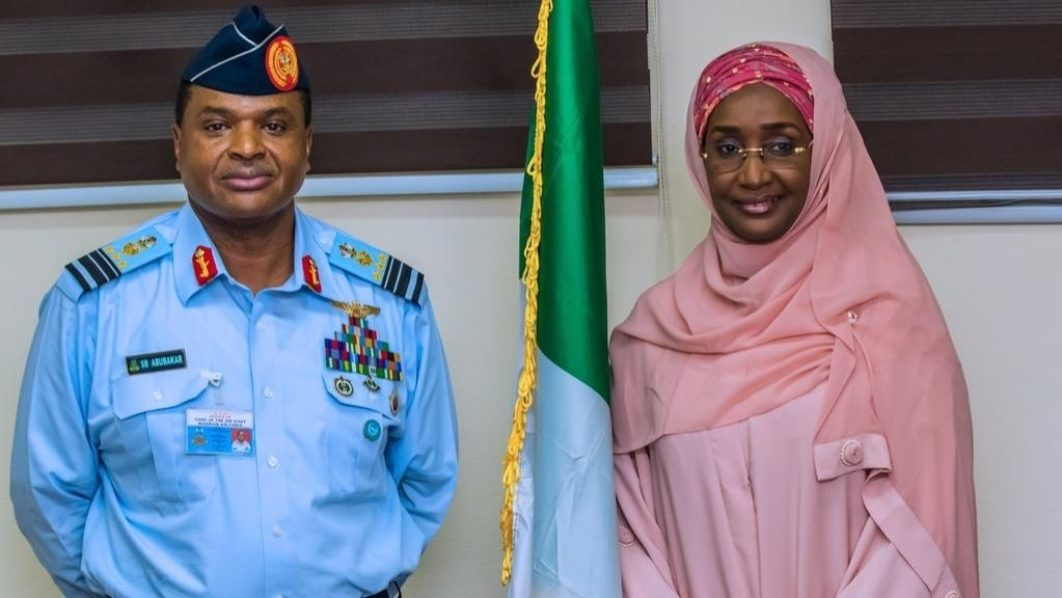 Buhari's Minister, Chief of Air Staff marries secretly in Abuja