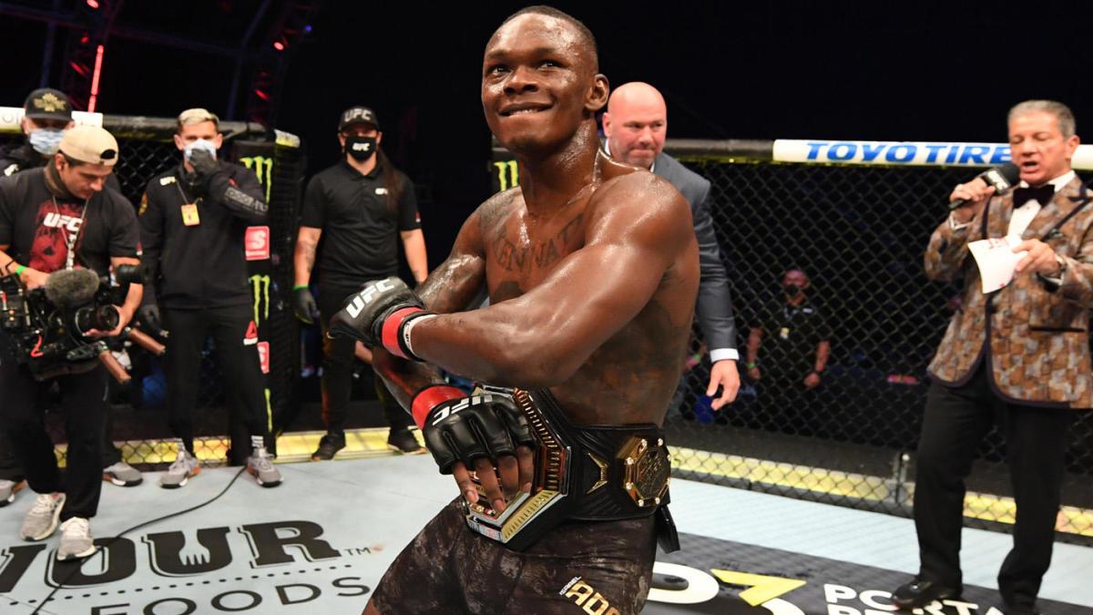 BREAKING: Israel Adesanya embarrasses Paulo Costa with TKO in second round