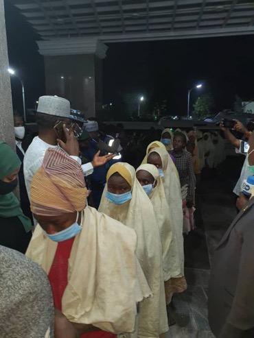 BREAKING: 279 Zamfara school girls released [Phostos]
