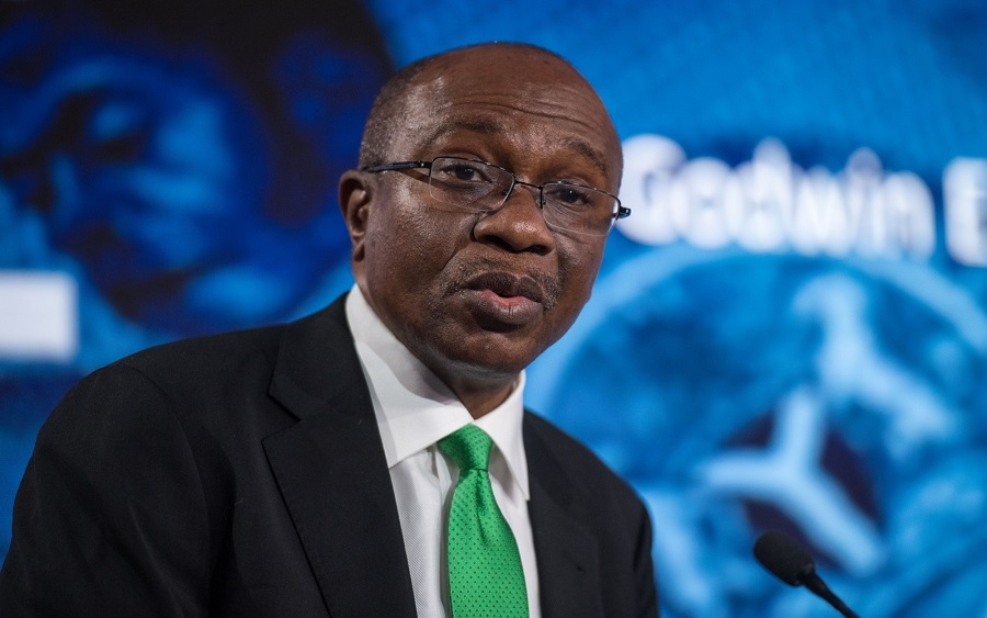 Godwin Emefiele, Governor of Central Bank of Nigeria, speaks at the Nigeria. Chris J Ratcliffe / Bloomberg