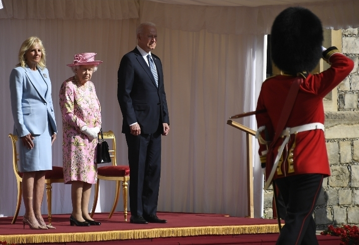 Biden becomes 13th serving U.S. president to meet Queen of England during her reign