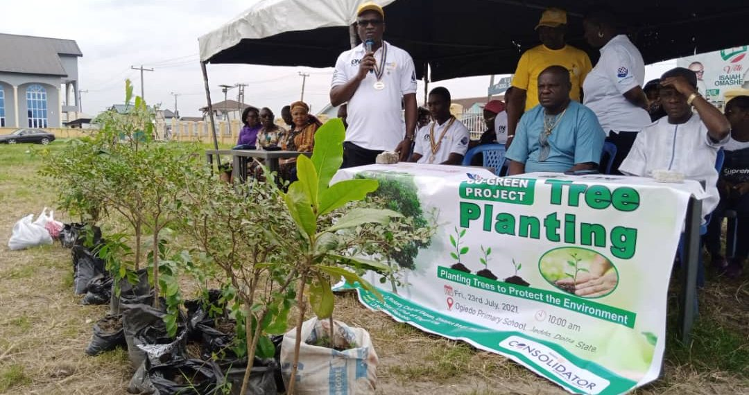 Rotary Club launches tree planting campaign in Delta communities