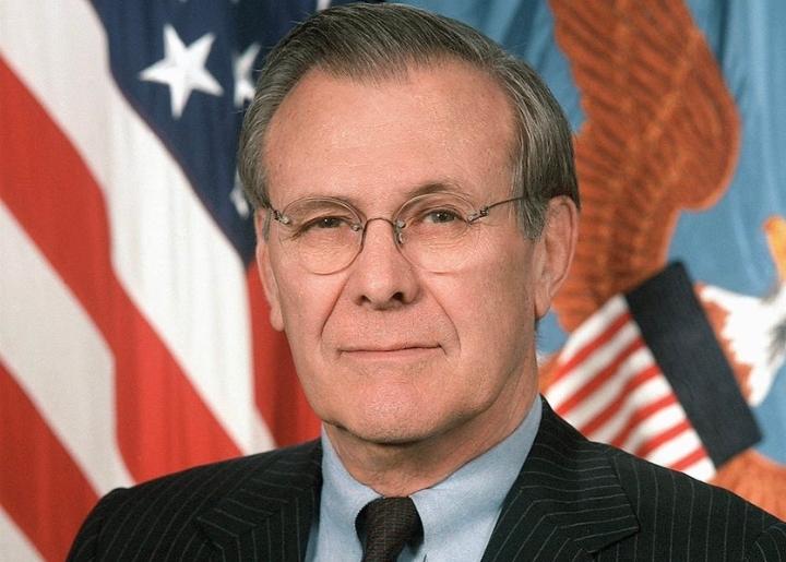 Ex-U.S. defence secretary Donald Rumsfeld dies at 88