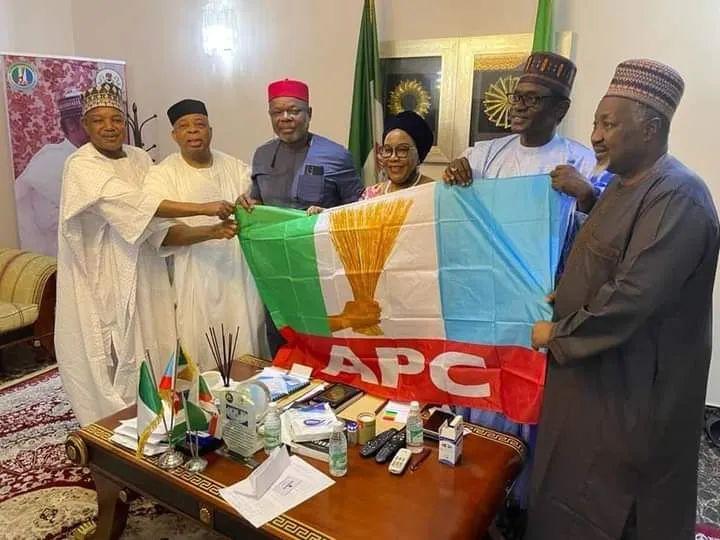 BREAKING: PDP BoT member, Joy Emordi joins APC